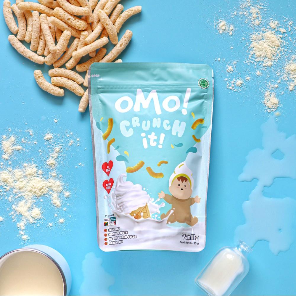 OMO! CRUNCH IT SUSU – Snack Sehat Bayi 8 Bulan