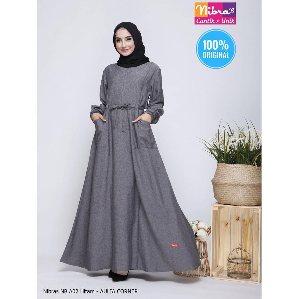 Model Baju Gamis Nibras Terbaru Gamis Terbaru 2019 Di Shopee Inspirasi