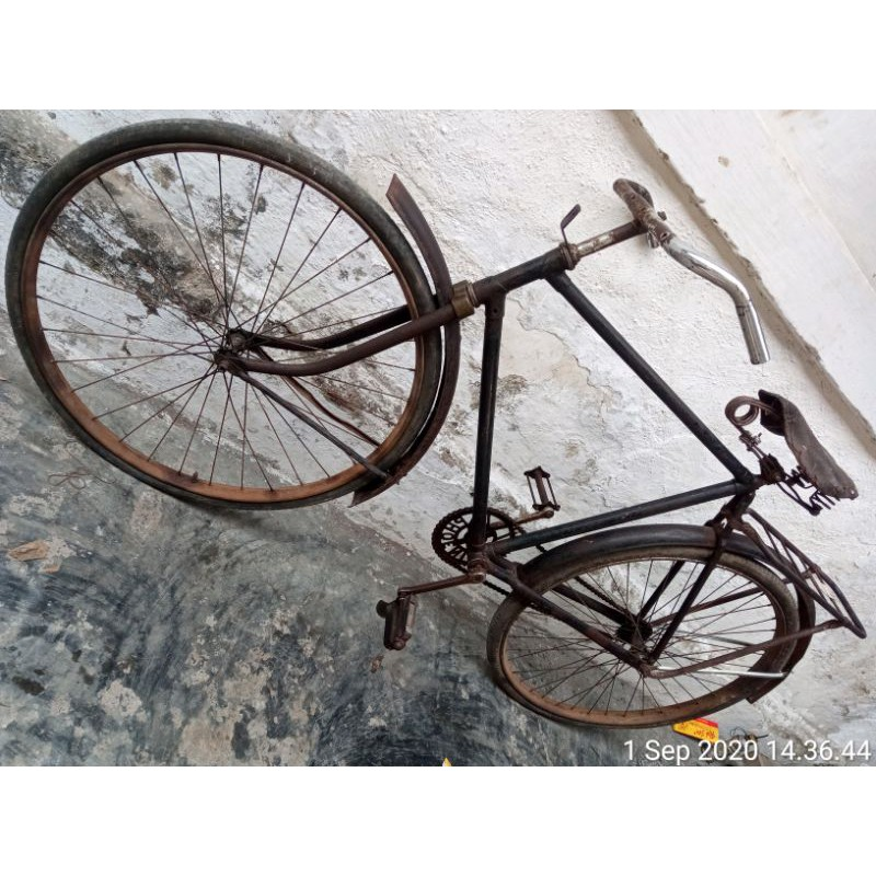 Sepeda Ontel Bahan Shopee Indonesia