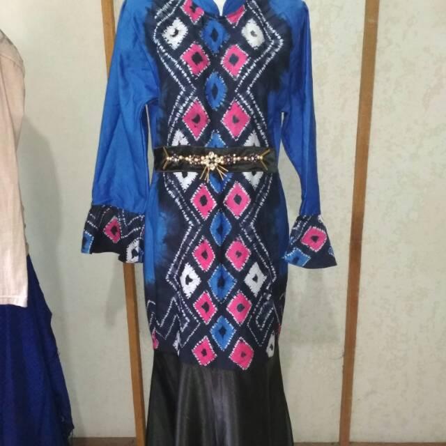 Dress Gamis Duyung Sasirangan