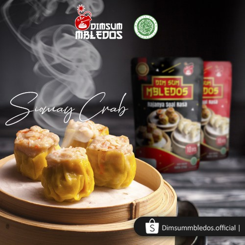 Best Seller Dimsum Mbledos Frozen Isi 10 Pcs Pack All Variant Shopee Indonesia