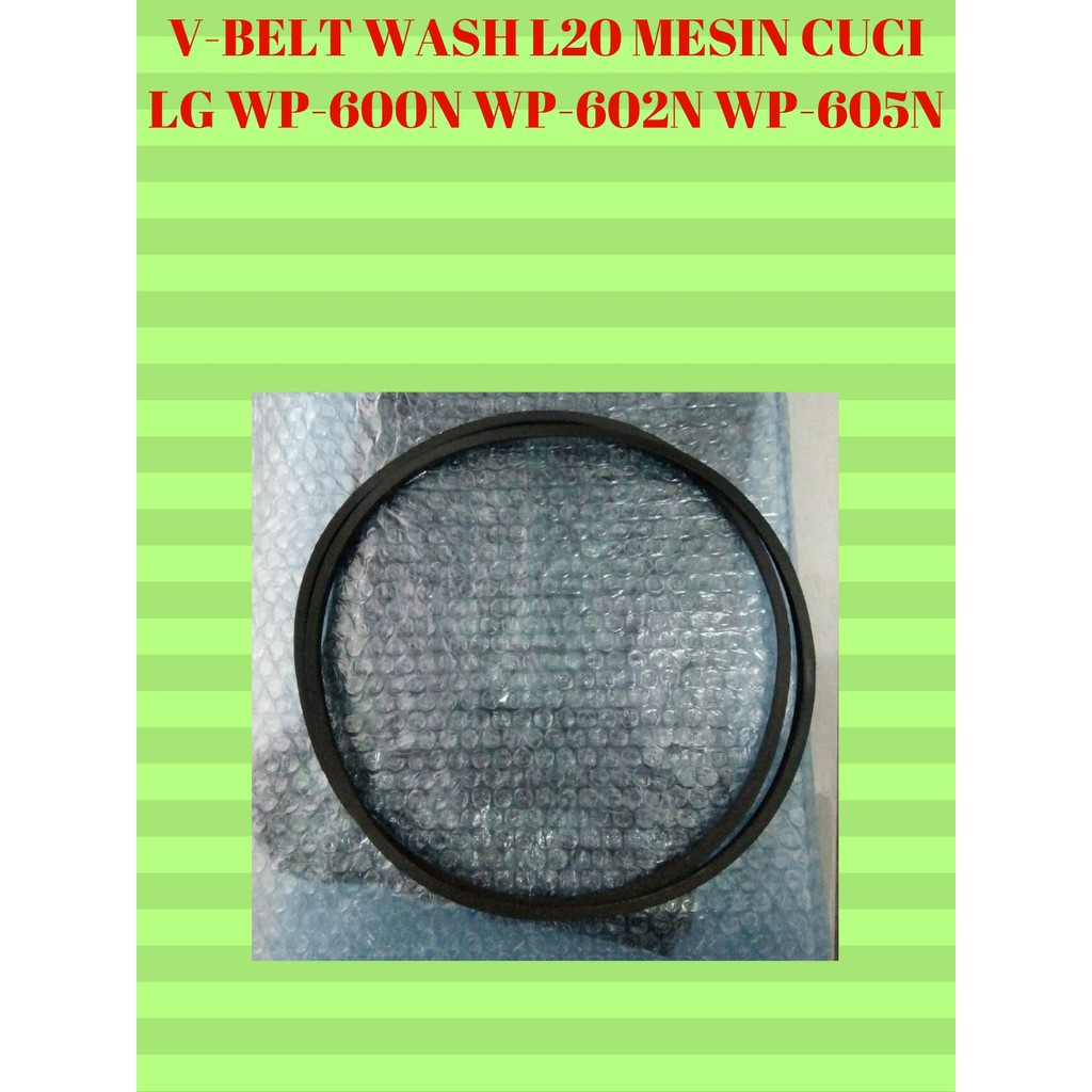 V-BELT WASH L20 M33 MESIN CUCI 2 TABUNG LG TYPE WP-600N / WP-602N / WP-605N