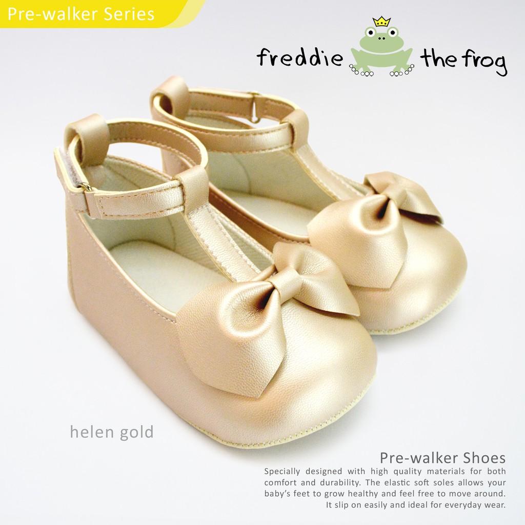 Sepatu Harga Terupdate 1 Jam Lalu Freddie The Frog Baby Shoes Kani Moccs Bayi Prewalker Helen Gold