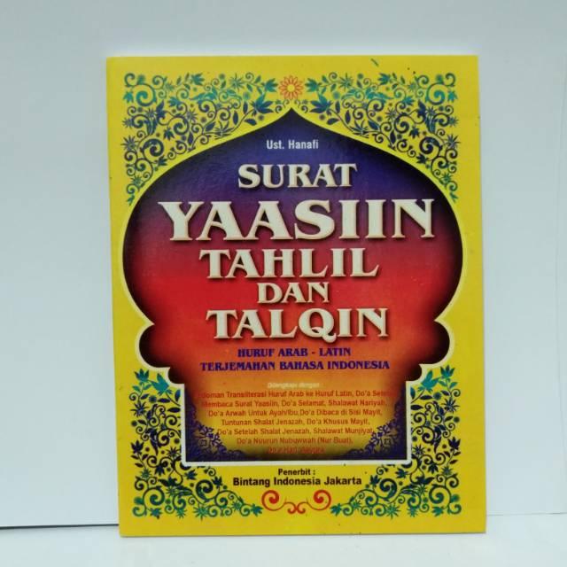 Surat Yasin Tahlil Dan Talqin Terlengkap