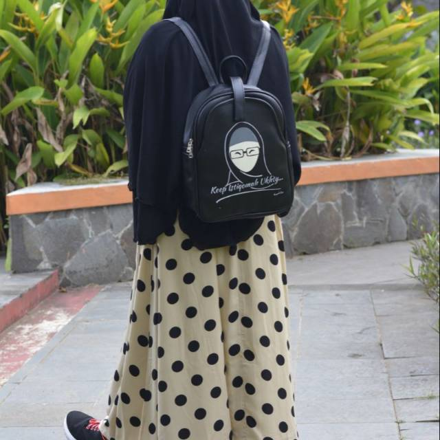 Tas Muslimah syahla wanita shalihah 2in1  91b23506e4