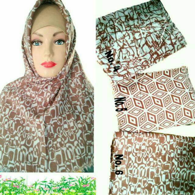 PROMO MURAH Bergo Syari Khimar Syari Kerudung Hijab Jilbab Bergo Jumbo Besar Syari Rempel W |