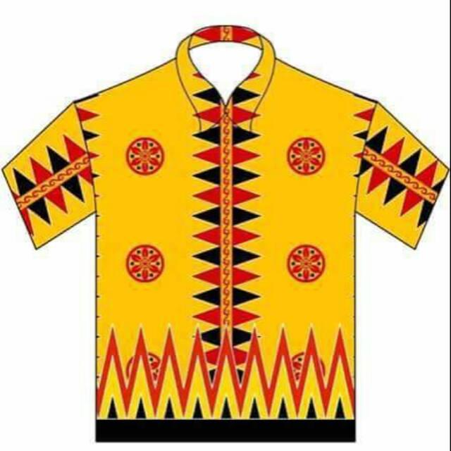 Baju Batik Nias All Desain