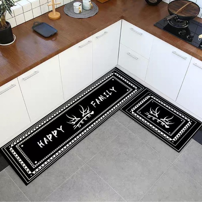 2 In 1 Kitchen Floor Mat Keset Alas Lantai Rumah Dapur Anti Selip Shopee Indonesia