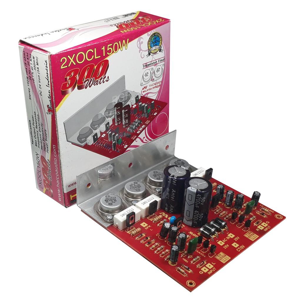 Kit Power Amplifier Ocl 350 750w Tr Shopee Indonesia Indonesias Legendary Diy 150w