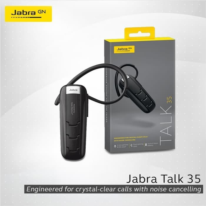 Headset Bluetooth Jabra Talk 35 for High Definition
