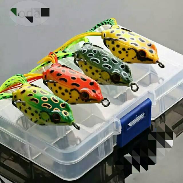 Umpan Pancing Kodok Katak Ikan Gabus 4cm Soft Lure Frog Fishing Tackle Shopee Indonesia
