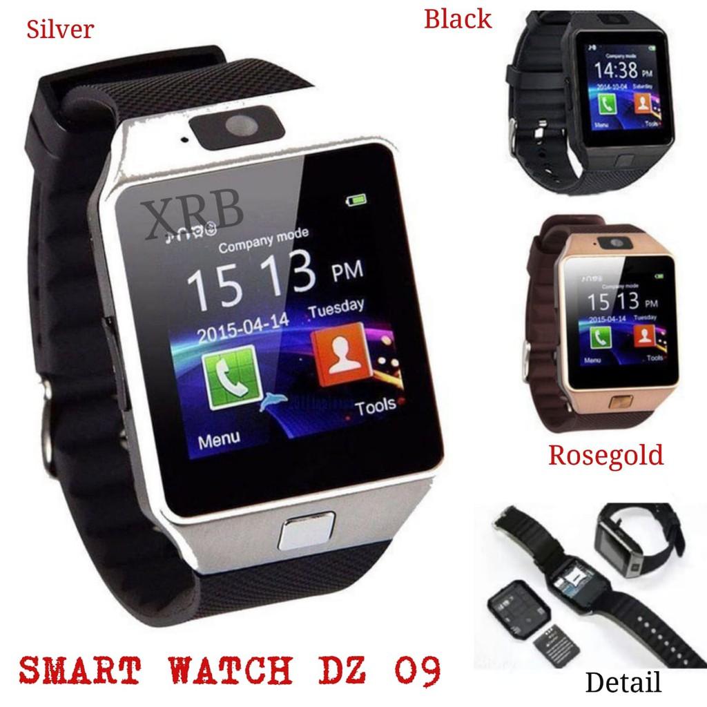 Smartwatch U9 Smart Watch DZ09 Atau Jam Tangan Smartphone Android Iphone   Shopee Indonesia