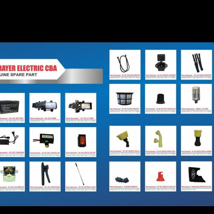 Knapsack Sprayer Elektrik CBA / Semprotan + Disinfektan 5 liter    ⠀⠀⠀⠀⠀⠀⠀⠀⠀⠀⠀⠀⠀⠀⠀⠀⠀⠀⠀⠀⠀⠀⠀⠀⠀⠀