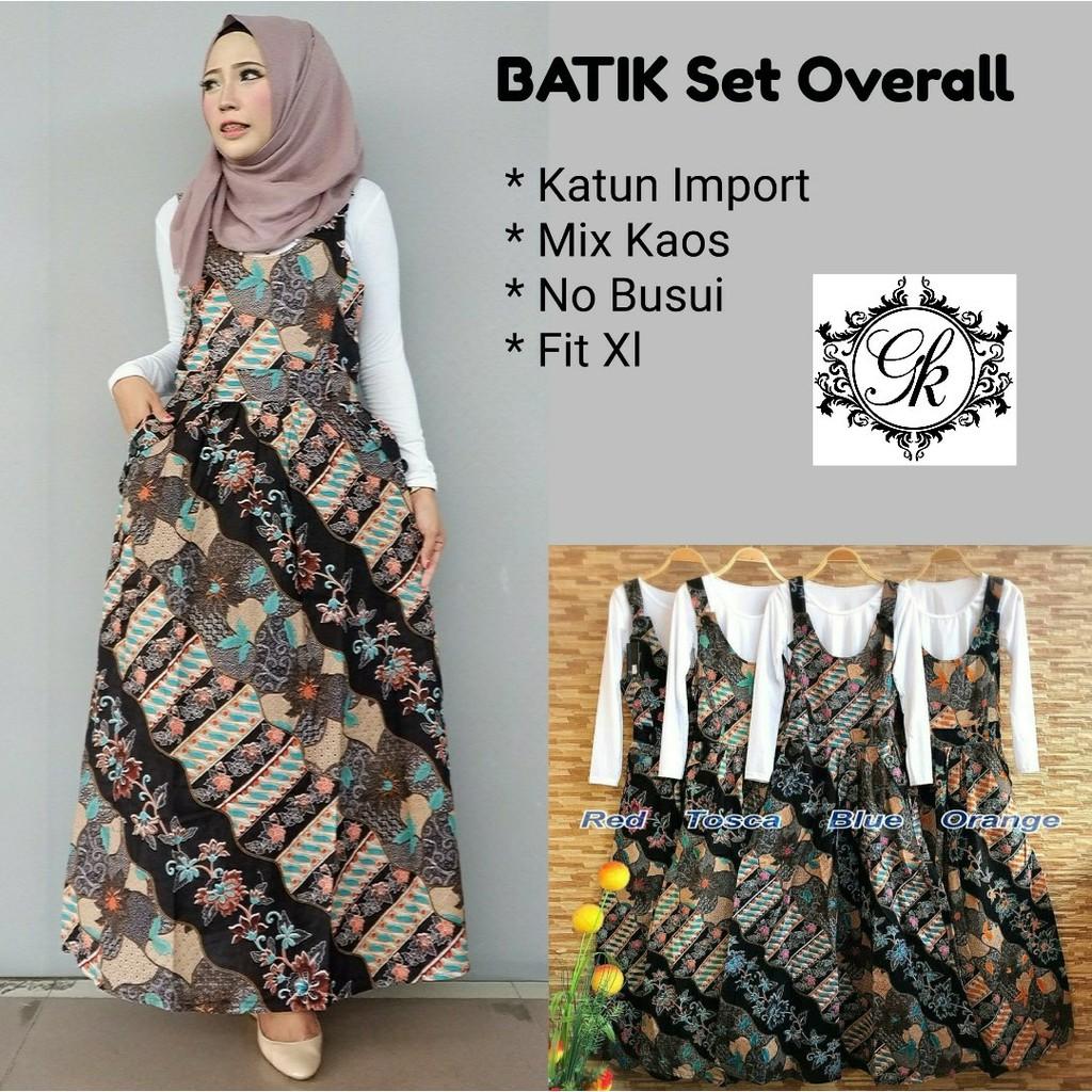 Batik Set Overall