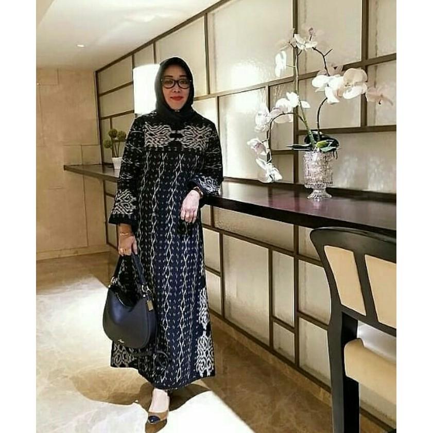 Termurah Gamis Syar I Kain Tenun Troso Handmade Modern Shopee Indonesia
