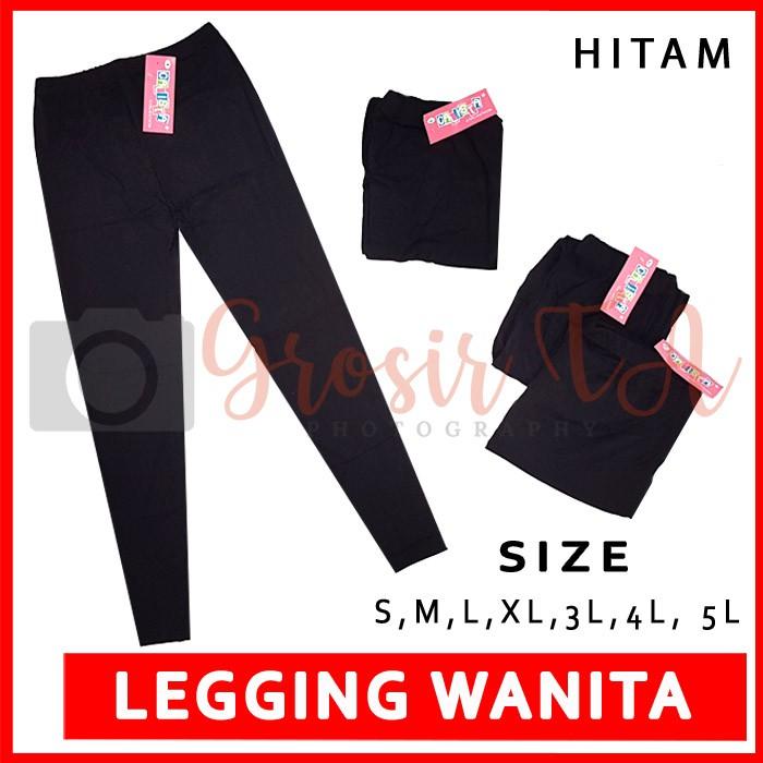 Gta Calista Ivanova Celana Leging Panjang Wanita Legging Kaos Hitam Putih Warna Size S 5l Gta0083 Shopee Indonesia