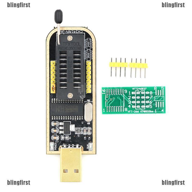 【∮】 Chip USB Programmer CH341A Series Chip 24 EEPROM BIOS Writer 25 SPI  Flash ☆HOT☆