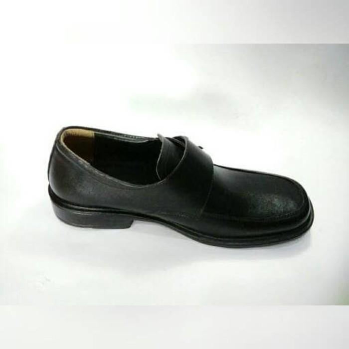 Sepatu Formal Pria   Sepatu Pantofel Kickers Zipper Kulit Asli  FS-21   0a6057d35d