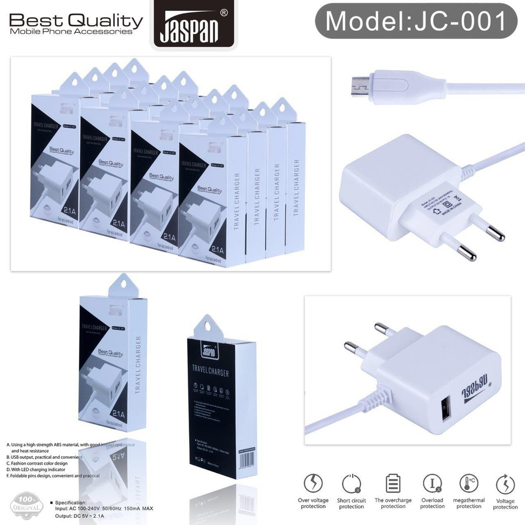 Kabel Data Veger Micro Usb High Speed Transmitting 21a Type Vc 100 P 03 Samsung Travell Charger Branded Asus Shopee Indonesia