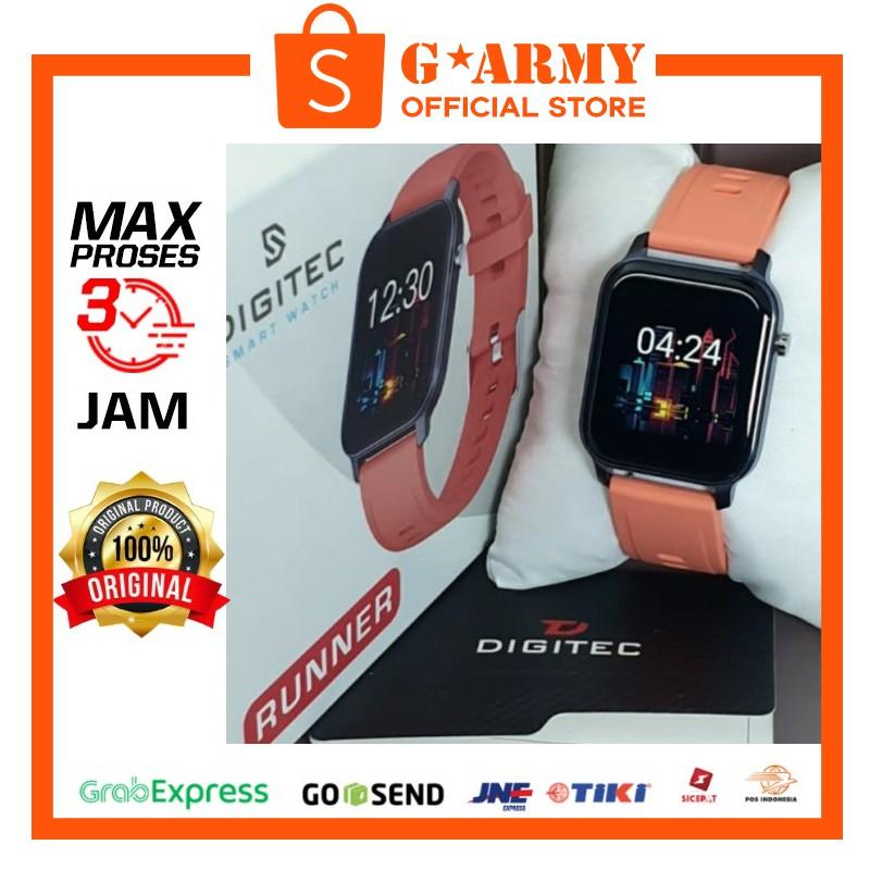 Jam Digitec RUNNER Orange - Jam Tangan RUNNER - DIGITEC SMARTWATCH