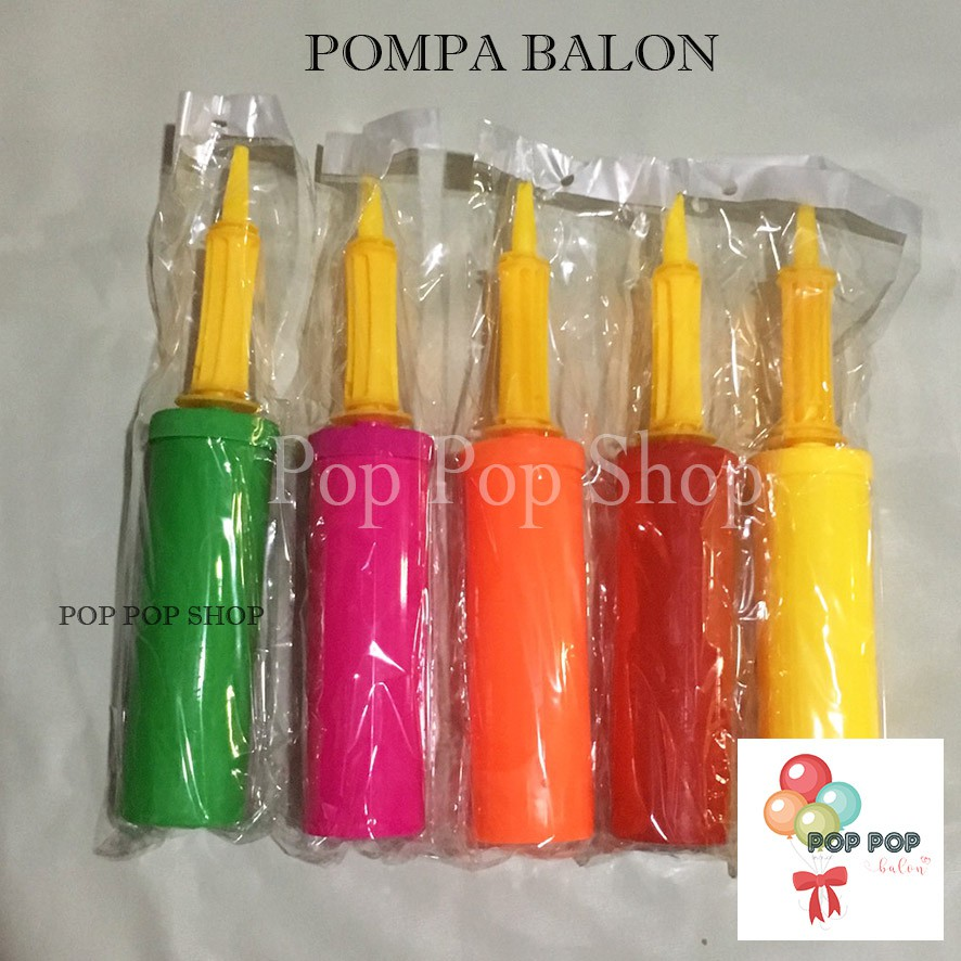 MPP-154 | Pompa Balon Tangan - Balloon Hand Pump - Manual Hand Pump Import - Praktis Latex Foil | Shopee Indonesia