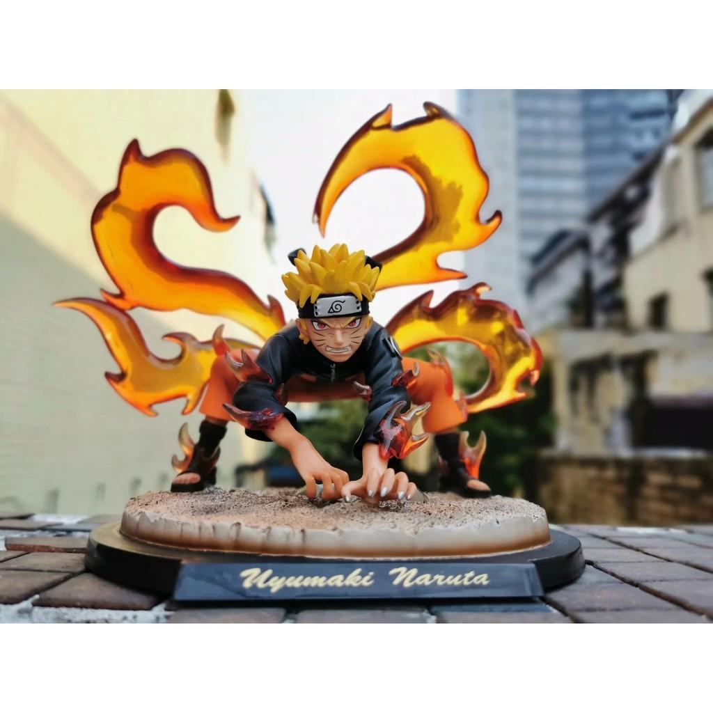 Action Figure Anime Naruto Ls Gk Naruto Serenade 9 Ekor