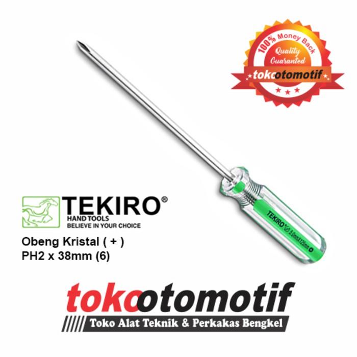 Obeng Kristal ( + ) PH00 x 50mm (2.5) TEKIRO ( Original ) |