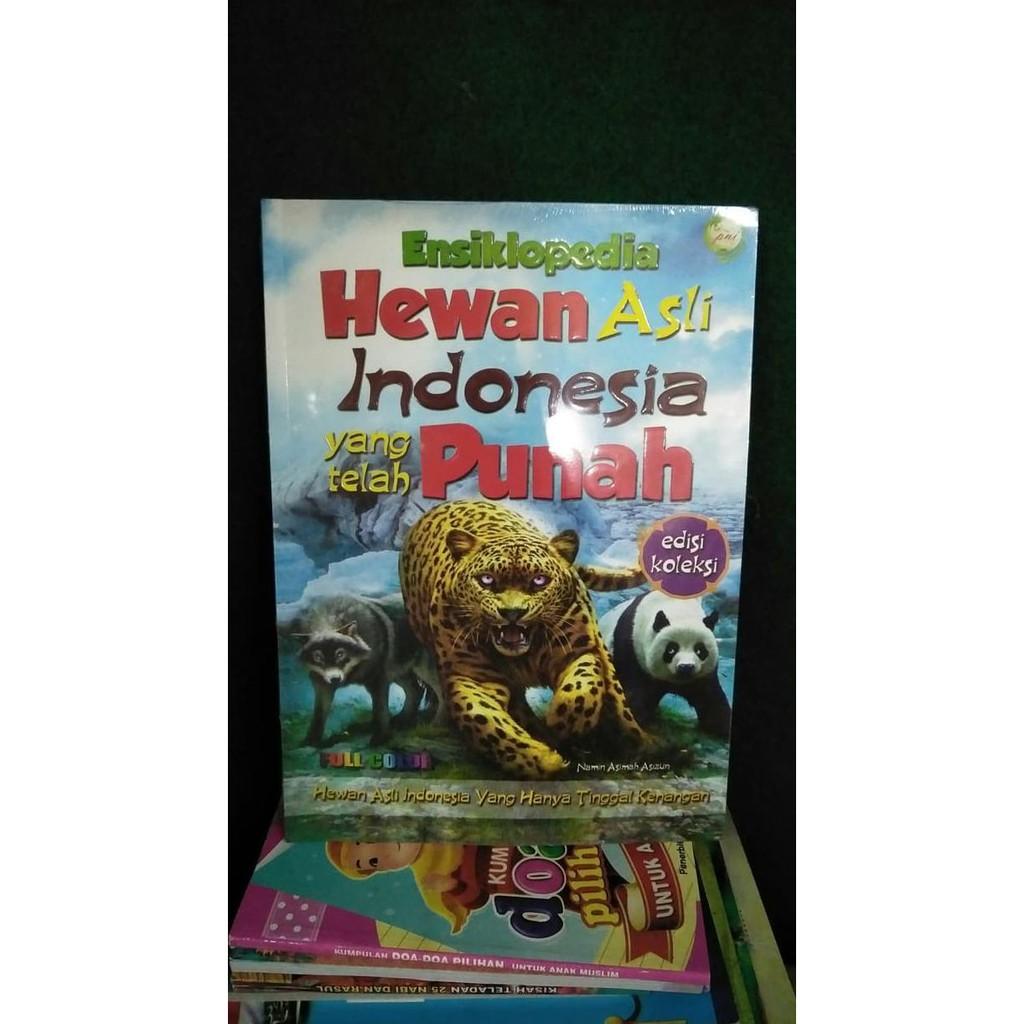 Buku Ensiklopedia Hewan Asli Indonesia Yang Telah Punah