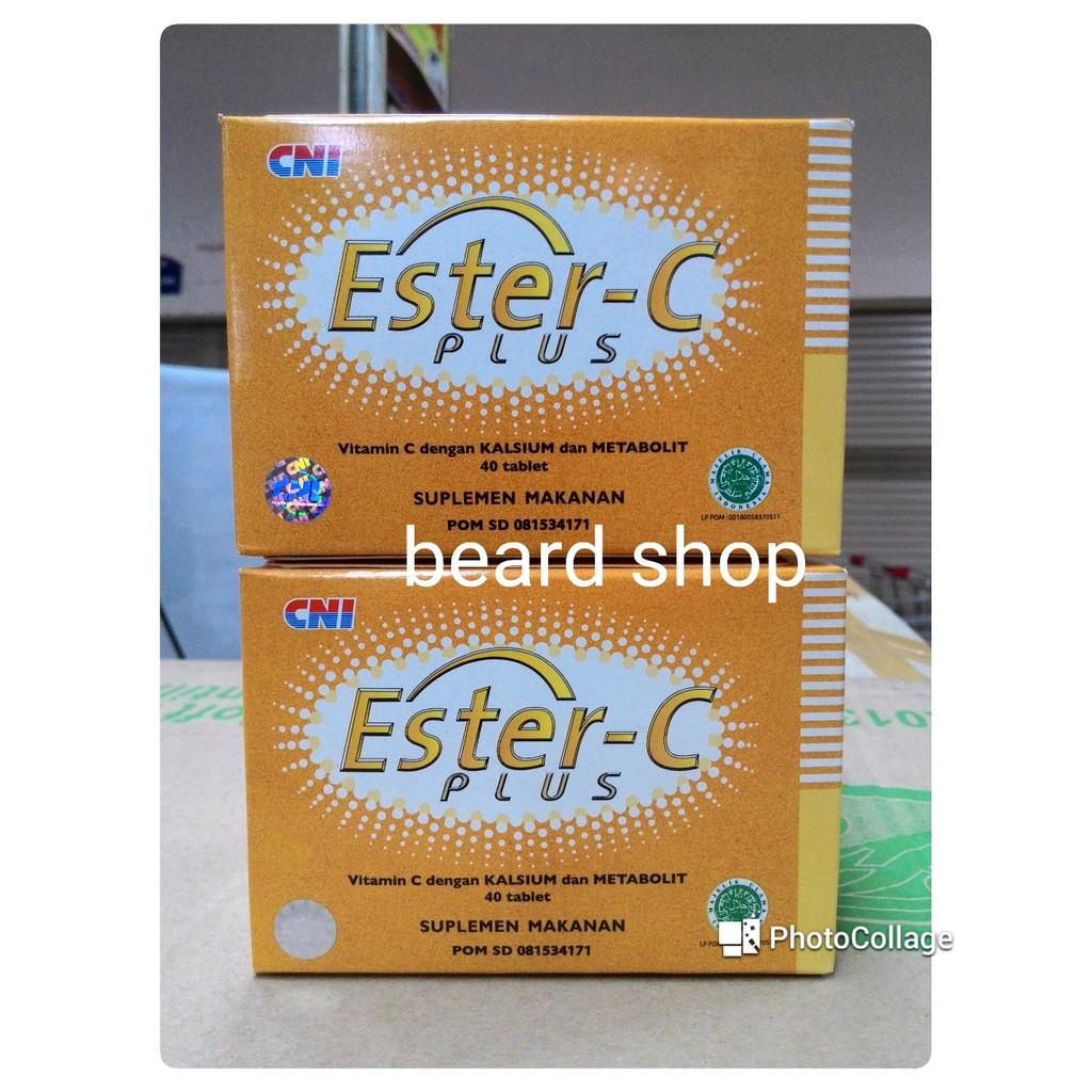 Ester C Plus Cni Suplemen Makanan Sehat 40 Kapsul Daftar Harga Holisticare Super 30 Tablet Vitamin