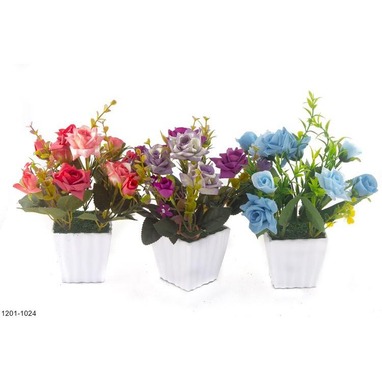LF Buket Bunga Lavender Artifisial Vas Gantung LV15  fa4a4dd000
