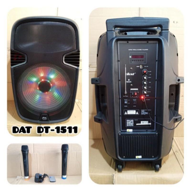 Speaker Aktif 15 inch Portable DAT DT 1511
