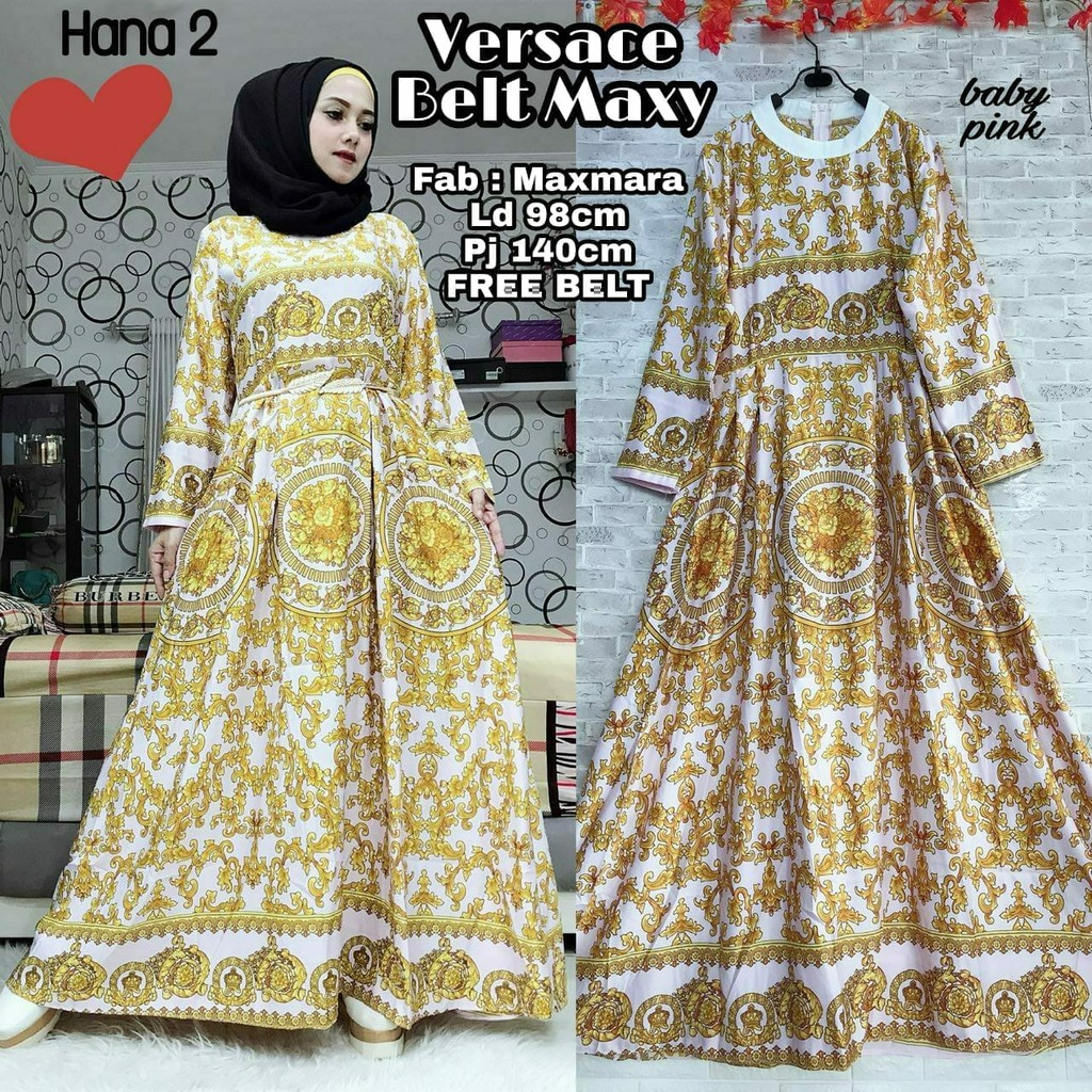 Versace Belt Maxy Shopee Indonesia
