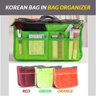 [HARGA PROMO] korean bag in bag organizer / dual bag in bag / korean bag | Shopee Indonesia