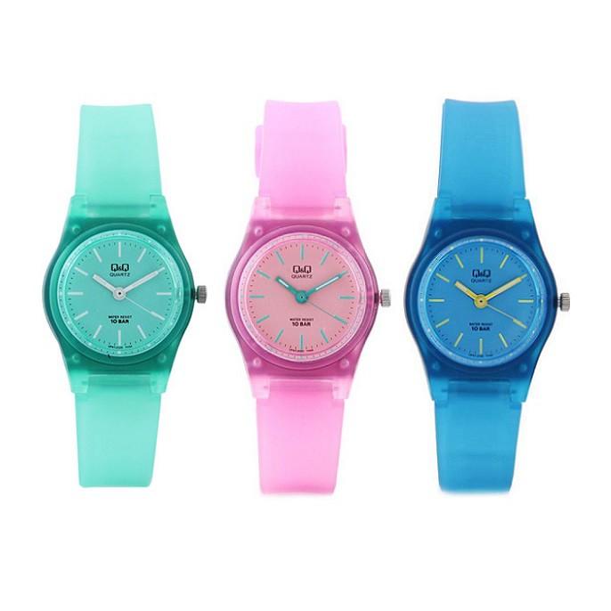 Q Q Qnq Qq Original Watch Tali Karet Jam Tangan Wanita Petite Size Vp47 Shopee Indonesia