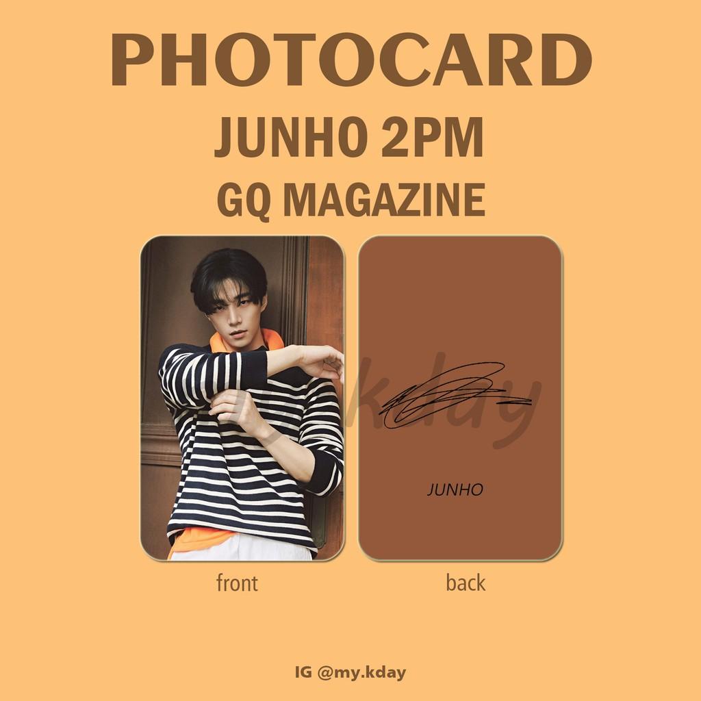 PC-0506, Photocard Junho 2PM GQ Magazine 2 sisi