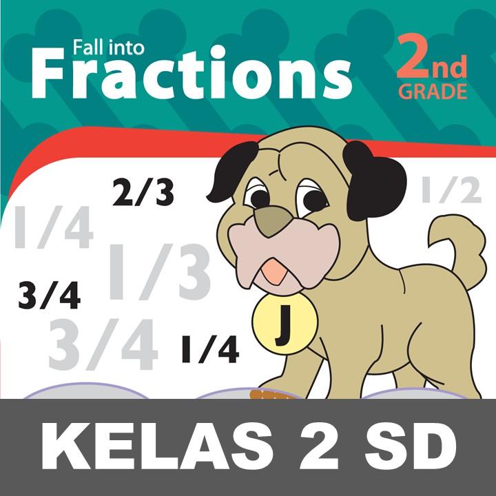 Fall Fractions Buku Keterampilan Aktivitas Kelas 2 Sd Matematika Shopee Indonesia