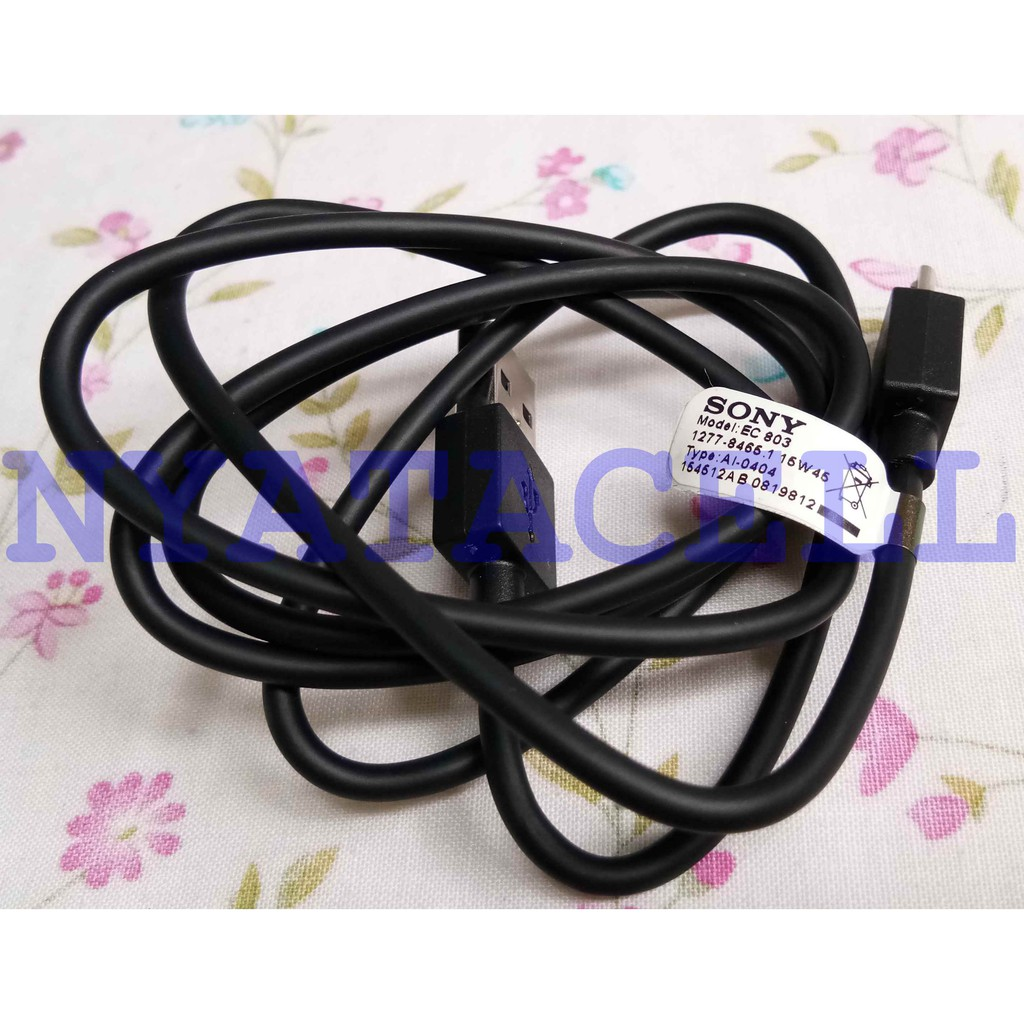 Kabel Data Sony Micro USB EC803 - Cable Fast Charging Xperia EC 803 OEM