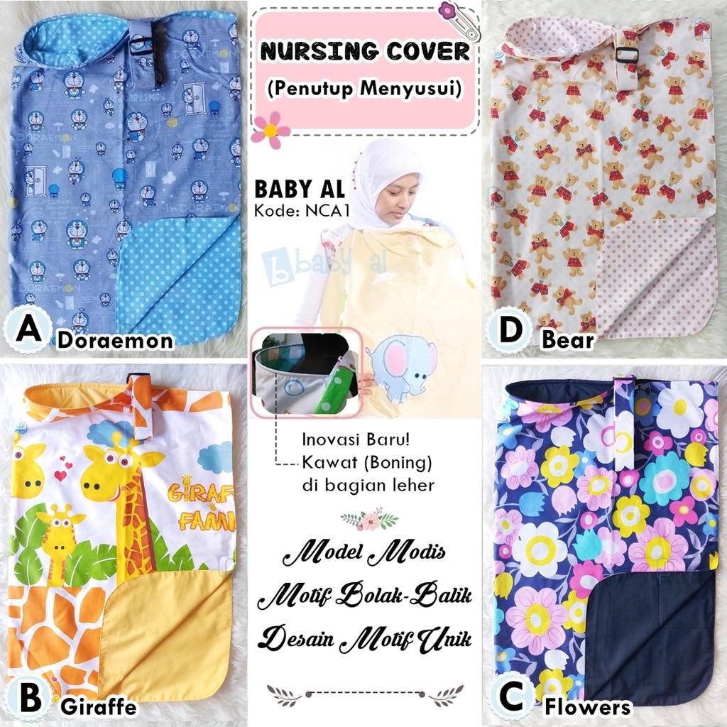 Geser Foto Apron Menyusui Nursing Cover Penutup Ter Kain Baby Lights Atau Model Melingkar Shopee Indonesia