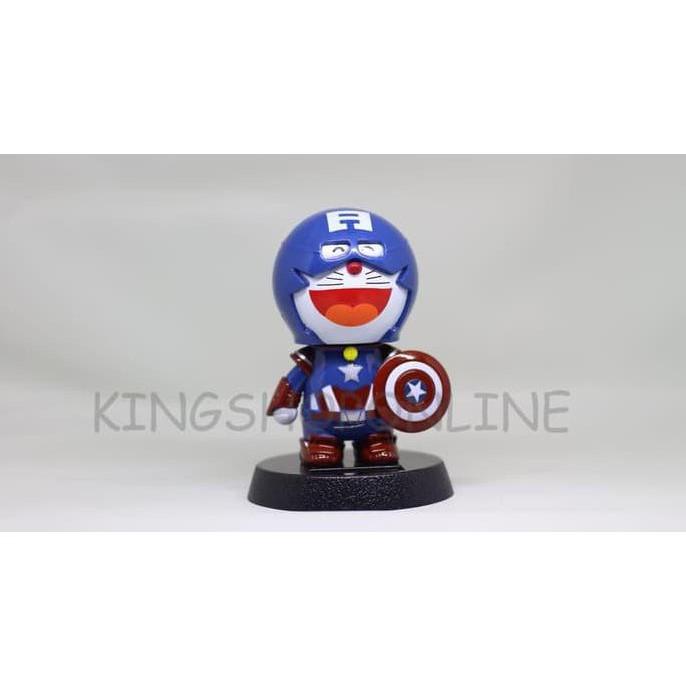 Boneka Hiasan Dashboard Mobil Iron Man Doraemon Captain America ... f4fa8c0b46