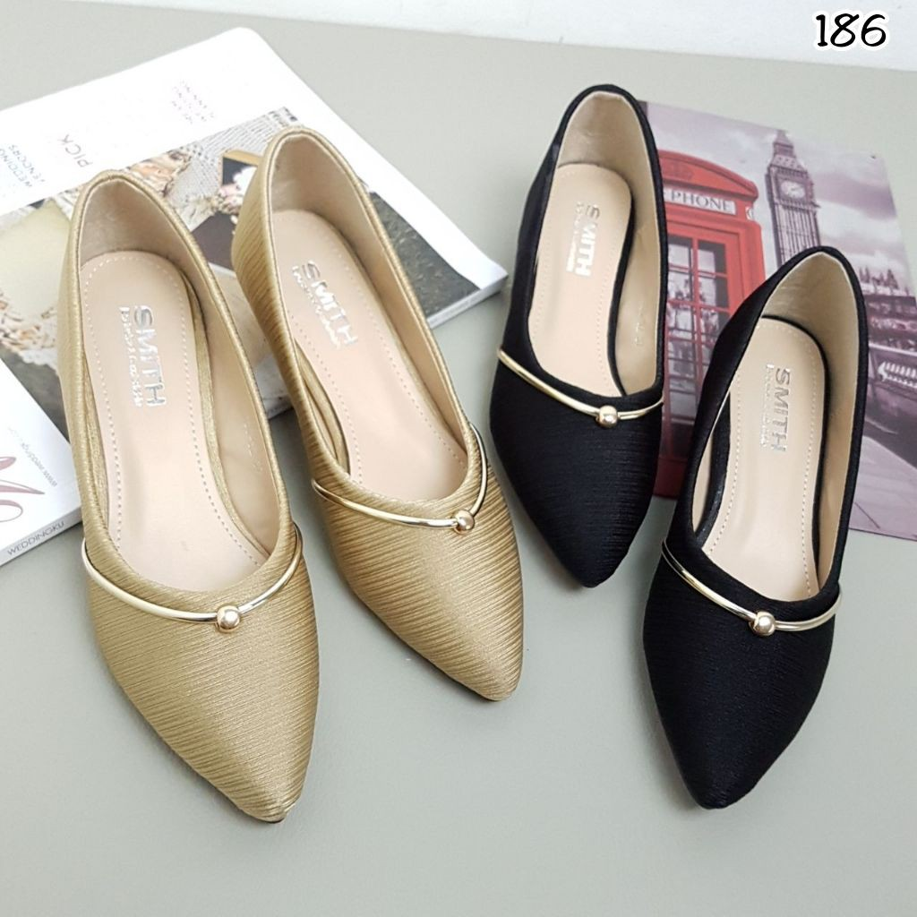 New arrival sepatu high heels wanita branded impor Batam merek smith kode  bs186 promo  c3e6c9d144