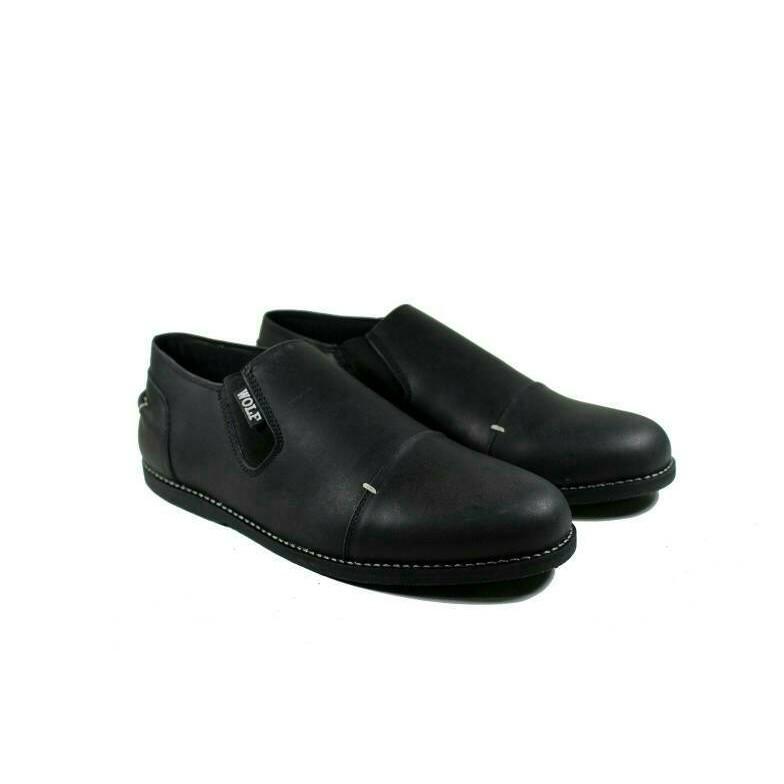Sepatu Pantofel Pria PREMIUM - formal untuk kerja dan pesta Wetan NS-4  b3dcb31506