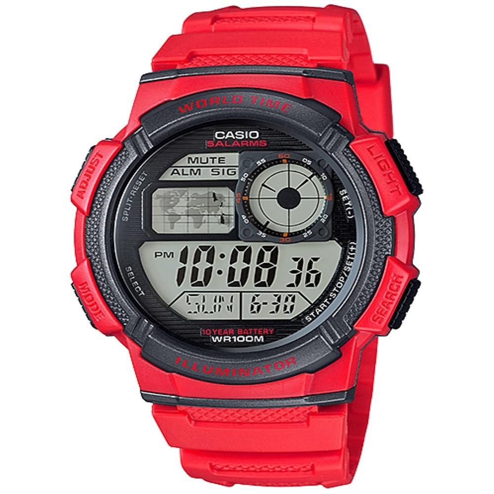 Igear Original I16 Jam Tangan Pria Karet Hitam List Merah Daftar Puma Pu104131001 Rubber Strap Kombinasi Casio Edifice Digital Biru Efd 1000 2 Shopee