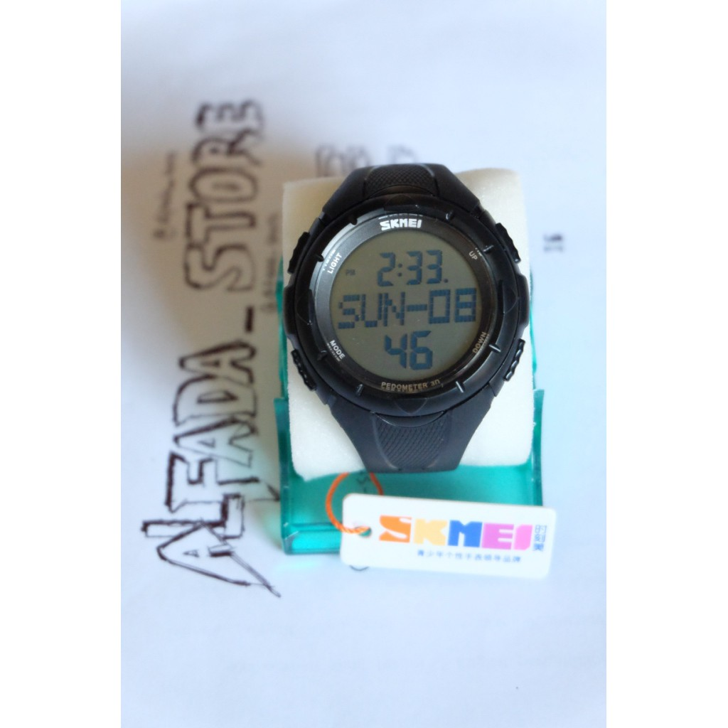 Skmei Dg1122s 1122 Running Watch Pedometer Function Jam Murah A115 Tangan Pria Digital Berkualitas Shopee Indonesia