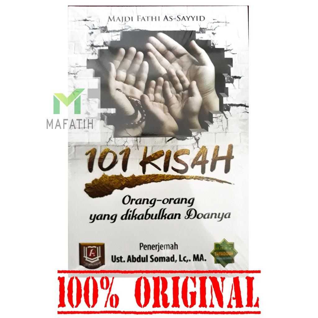 Buku 101 Kisah Orang Orang Yang Dikabulkan Doa Doanya Ustadz Abdul Somad Uas Original Store
