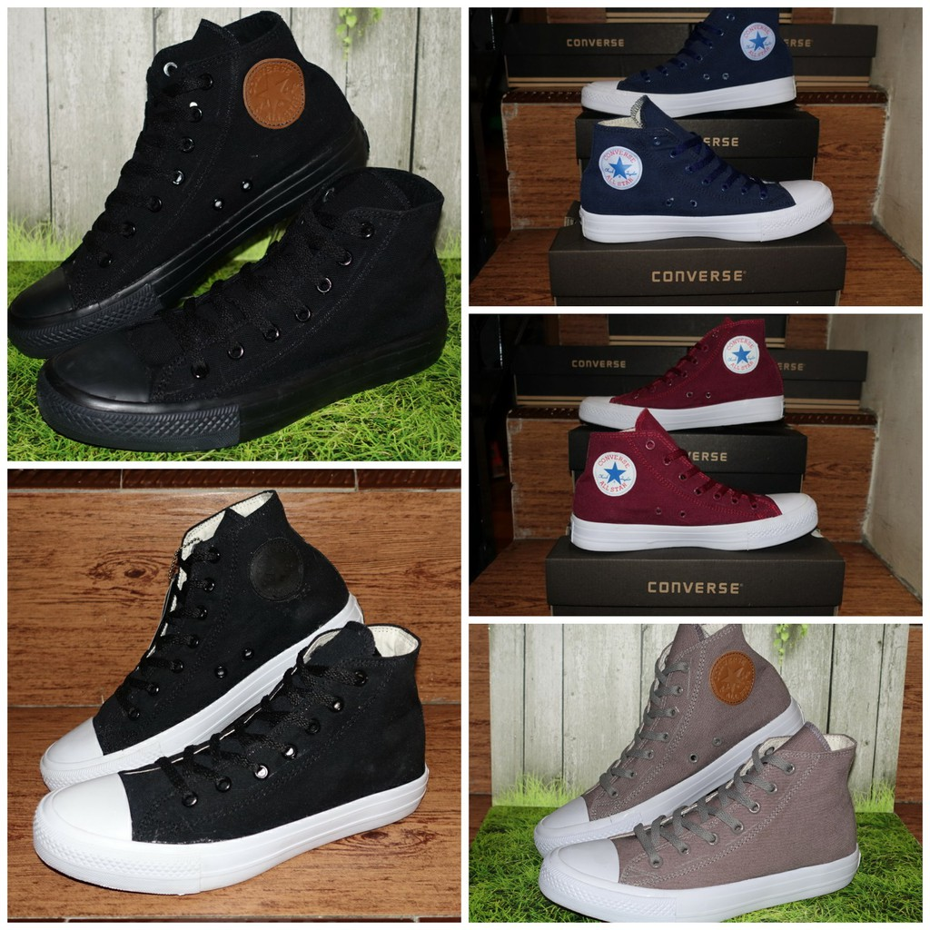 Up To 19 Discount From Cahaya Sport Sepatu Allstar Grade Ori Casual Sekolah Converse All Star Chuck Taylor High Classic 37 38