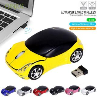 Portable Optical Gaming LED Lighting 3D Car Shape Wireless Mouse 2.4GHz Mice for PC Laptop Macbook