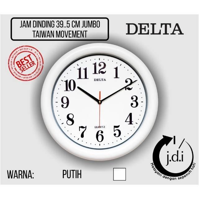Jam Dinding Rolens Murah Diameter 30 cm Lis Kecil Silver (Bonus Batere ABC)   84be4fb339