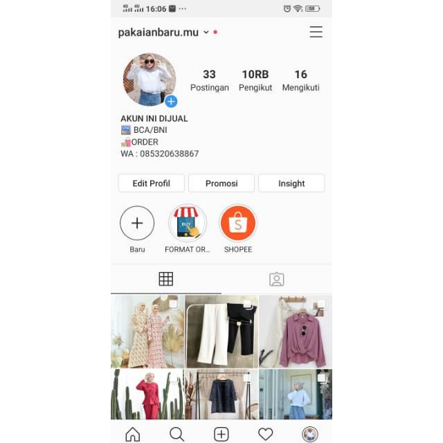 Akun Instagram Murah 10k followers