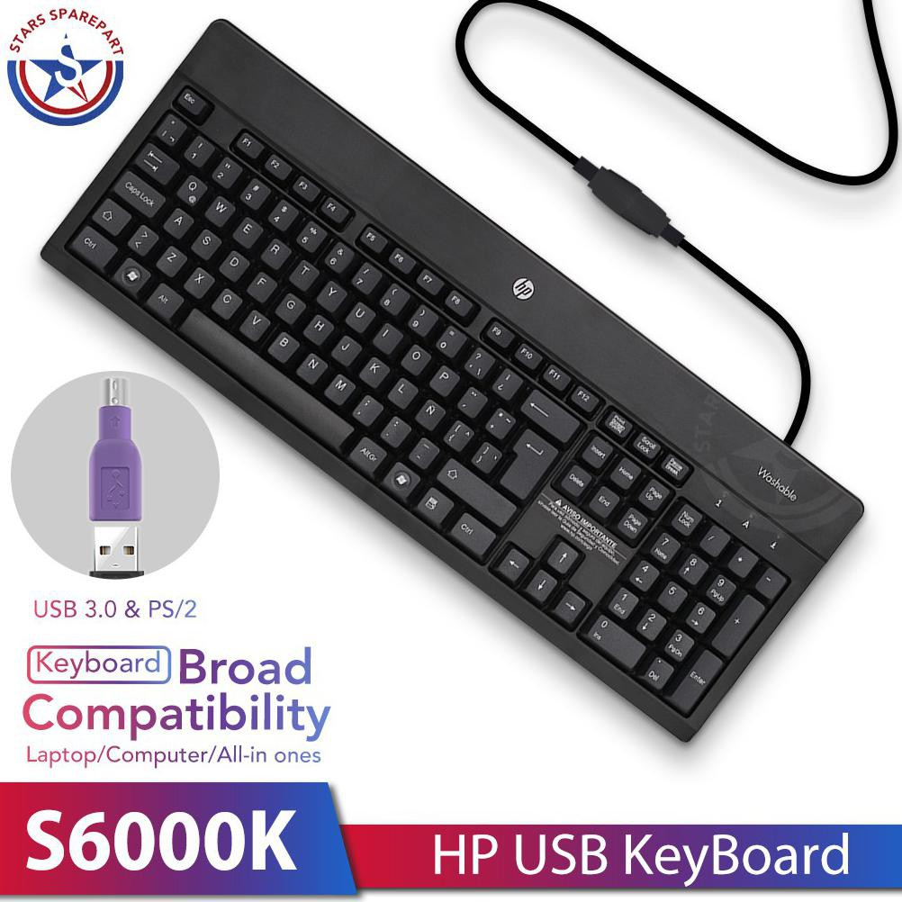 Hp Keyboard Usb Kabel Converter Cable Ps2 To Usb For Pc Laptop Notebook Hp S6000k Shopee Indonesia