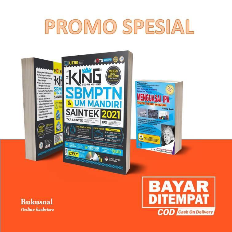 BUKU SBMPTN 2020-2021/ THE KING BEDAH KISI2 SBMPTN & UM ...